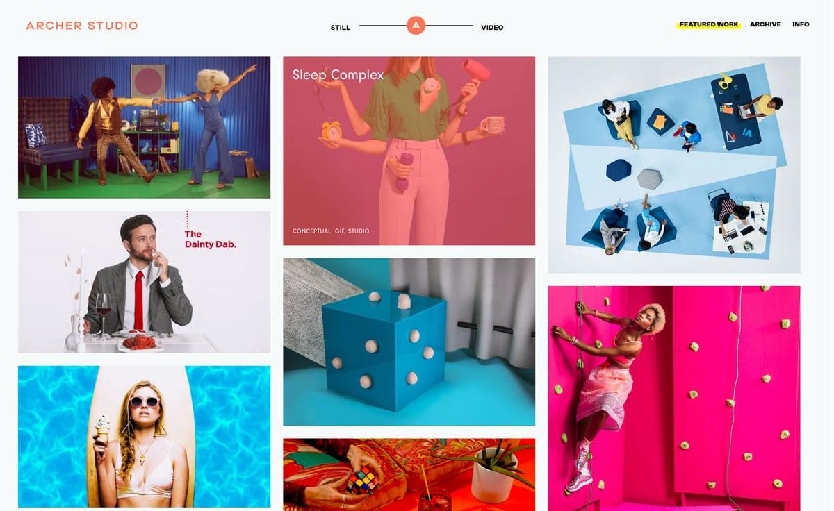 animazione mobile. web design trends 2019