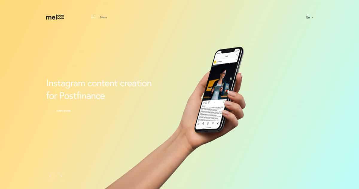 Web Design Trends: Tendenze dell'interfaccia utente per il 2019