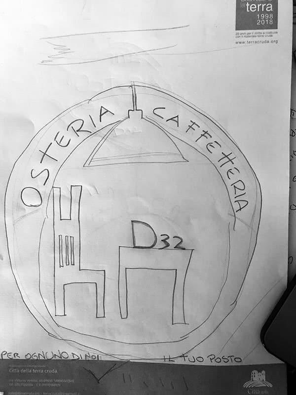 bozze logo D32 Cagliari, studio e progettazione logo, creazione logo, progettazione grafica, realizzazione logo, realizzazione logo aziendale, logo aziendale