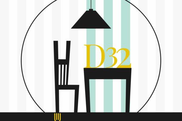 D32 via dante 32 Cagliari - studio e progettazione logo - servizi grafica