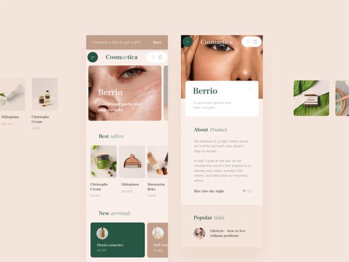 sito web bellezza