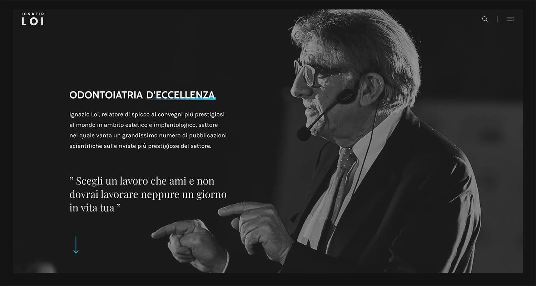 sito web • Ignazio Loi • Centro Odontoiatrico Sardo