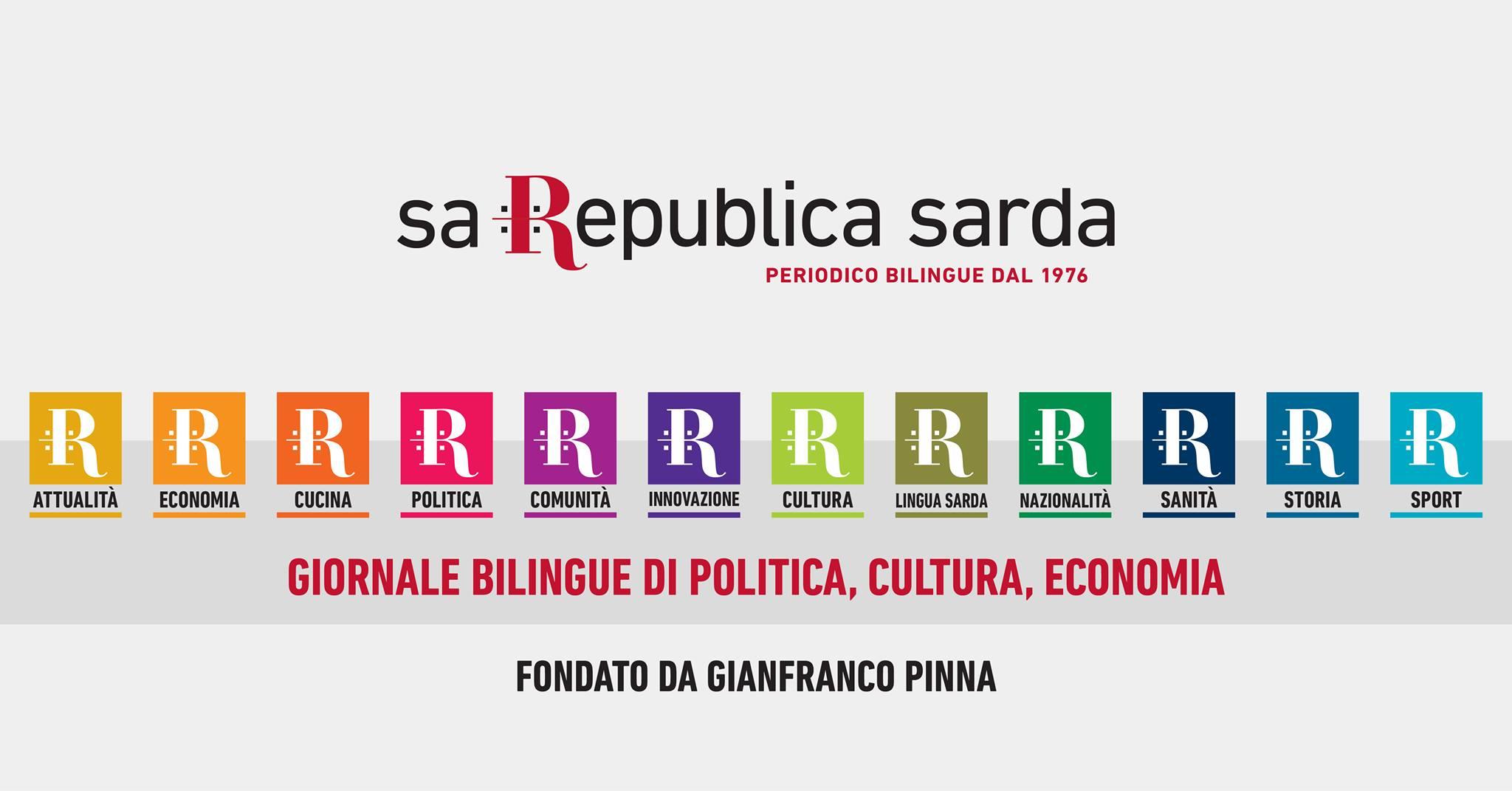 sito web • Sa Republica Sarda • periodico bilingue dal 1976