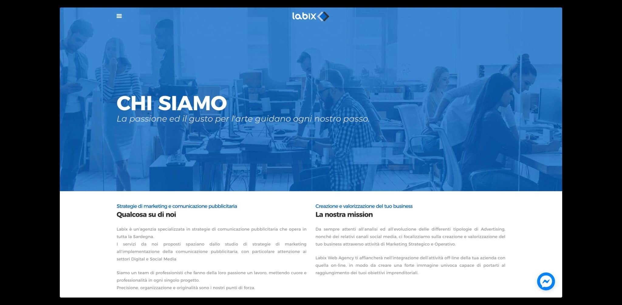 sito web • Labix Web Agency